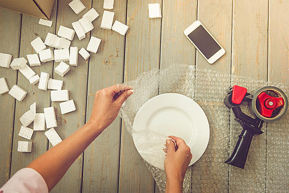 💡💡¿Cómo embalar los objetos más frágiles en una mudanza?